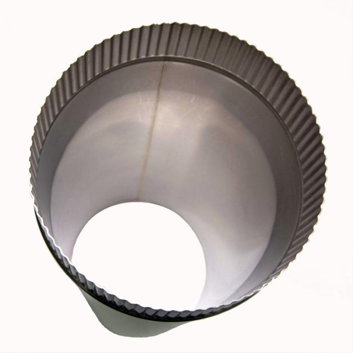 Труба без изоляции 500 / 200 / 0,8 мм СШ AISI-304
