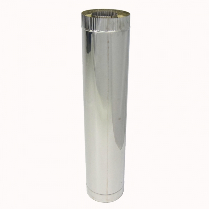 Труба с изоляцией 1000 / 115/215 / 0,5 мм AISI 304/430 СШ