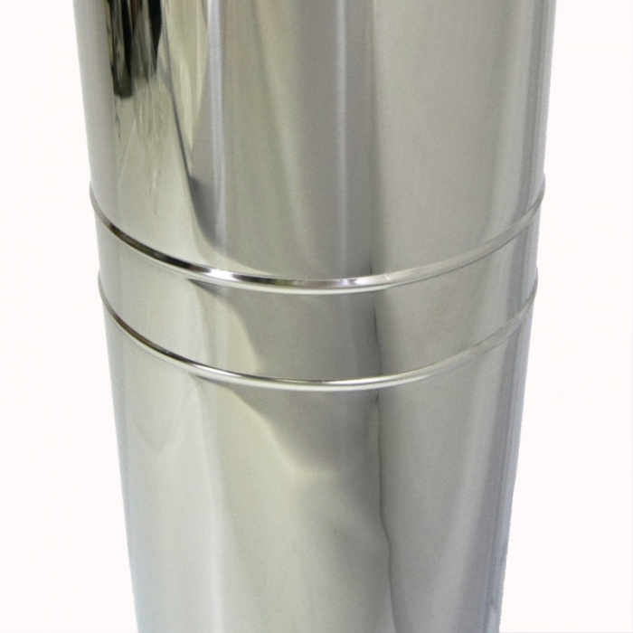 Труба с изоляцией 500 / 150/250 / 1 мм AISI 304/430