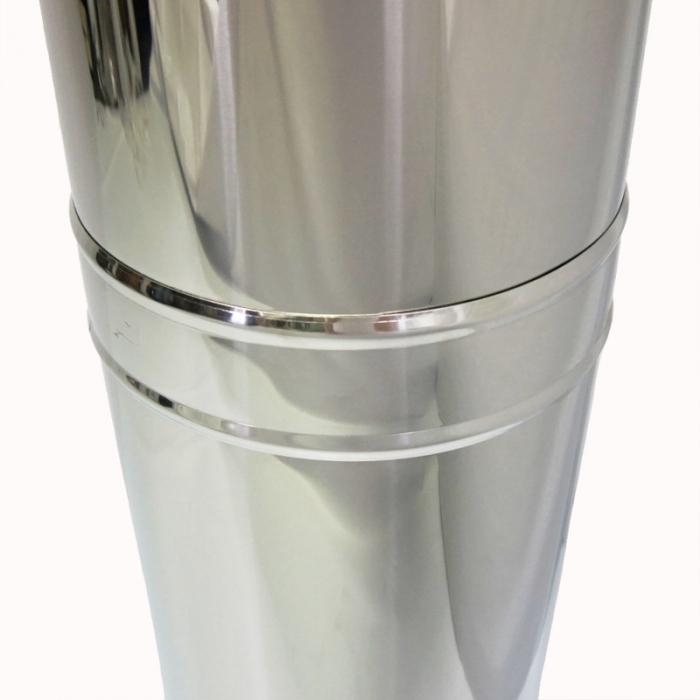 Хомут широкий 250 мм AISI-430
