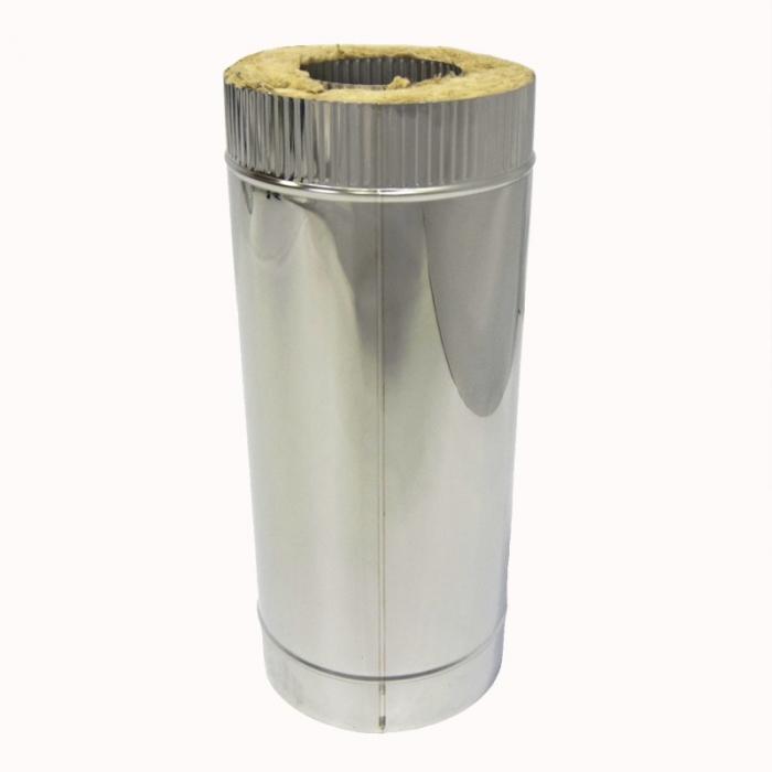 Труба с изоляцией 500 / 115/215 / 0,8 мм AISI 304/430 СШ