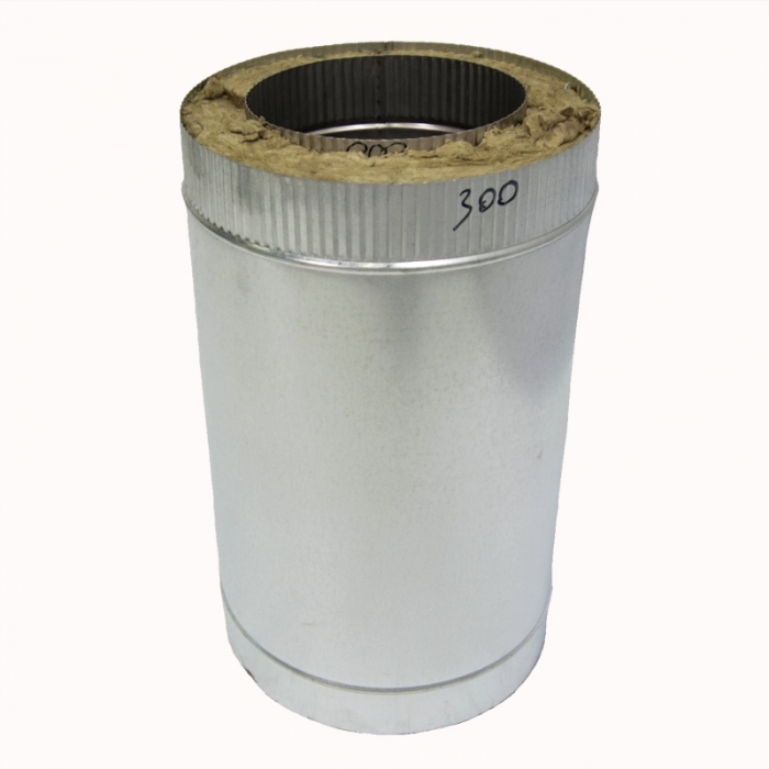 Труба с изоляцией 500 / 200/300 / 1 мм AISI 304/оцинк. СШ
