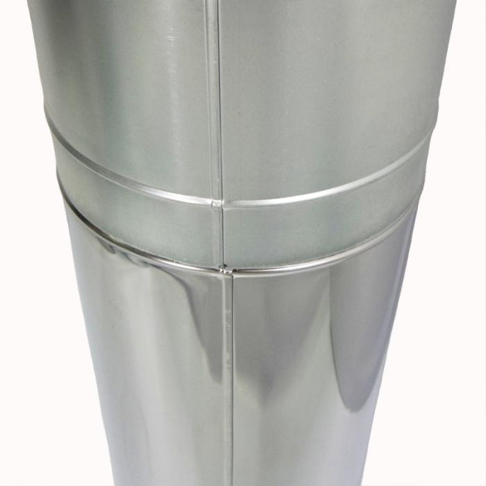 Труба с изоляцией 1000 / 200/300 / 2 мм AISI 430/430