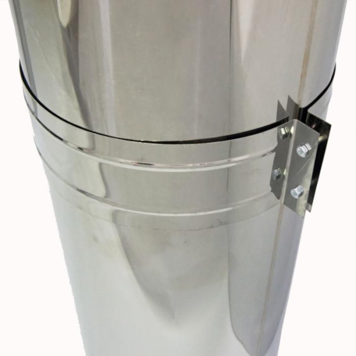 Труба с изоляцией 1000 / 200/300 / 1 мм AISI 304/430