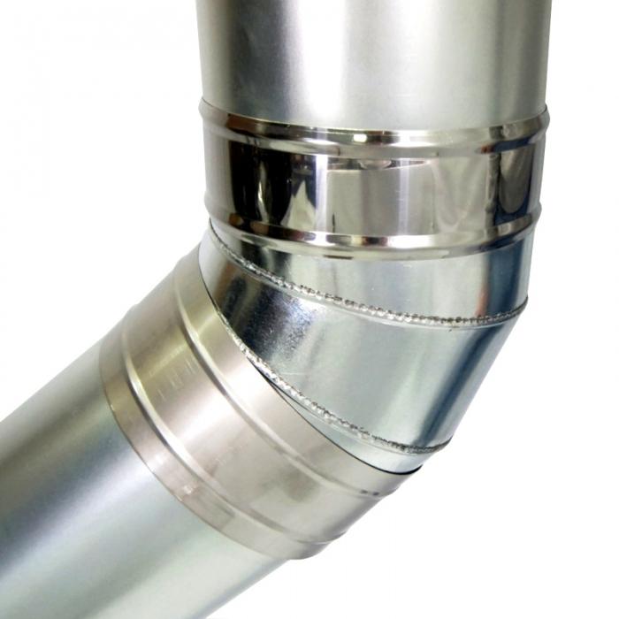 Хомут широкий 215 мм AISI-430