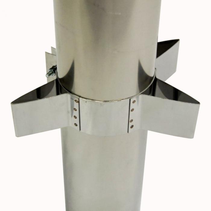 Хомут силовой 150 мм AISI-430