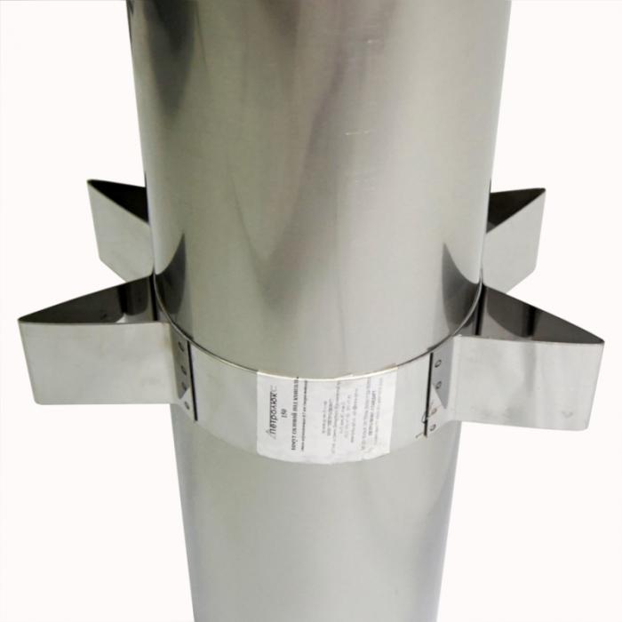 Хомут силовой 200 мм AISI-430