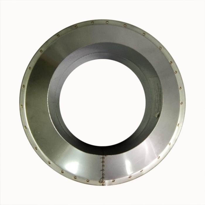 Заглушка со вставкой по дыму 150/250 / 0,5 мм AISI 304/430 СШ