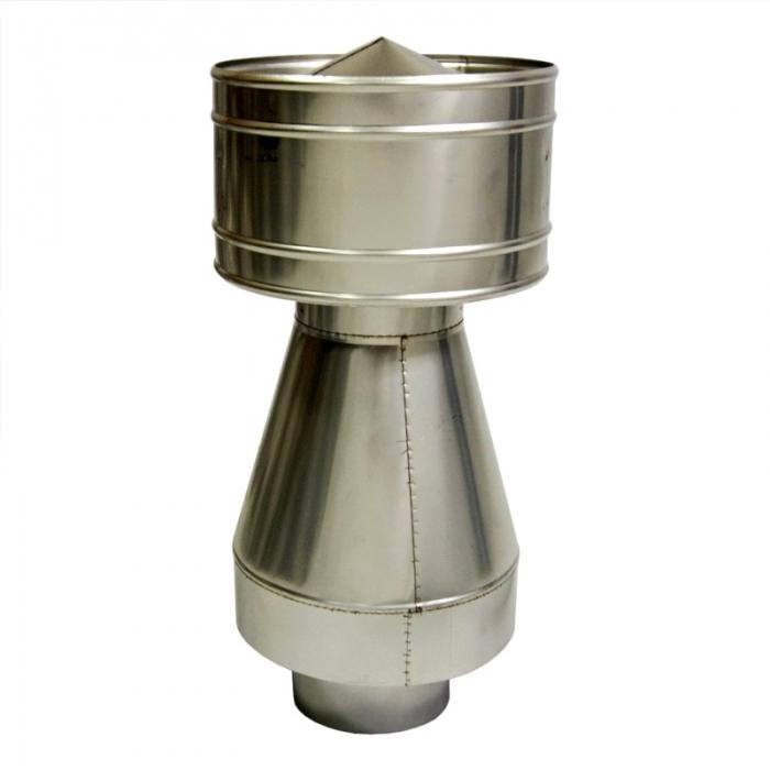 Дефлектор-оголовок 110/215 мм AISI 304
