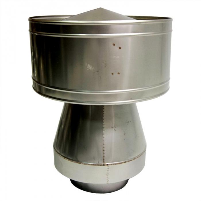 Дефлектор-оголовок 205/300 мм AISI-304