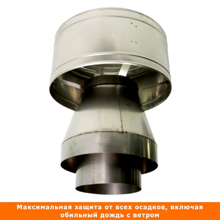 Дефлектор-оголовок 195/300 мм AISI-304