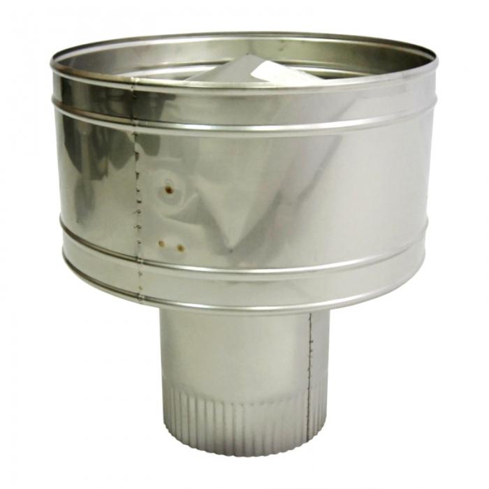 Дефлектор 150 мм AISI 304 с гофрой