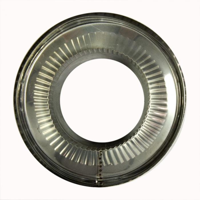 Заглушка со вставкой по дыму 150/250 / 0,8 мм AISI 304/430 СШ
