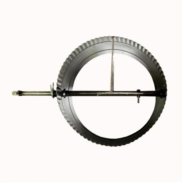 Шибер поворотный 200 / 1,0 мм AISI 304