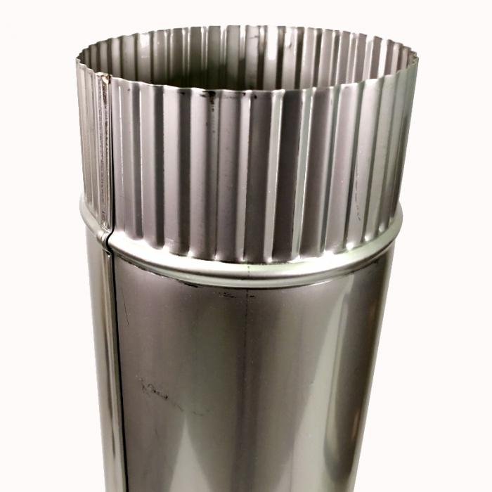 Труба без изоляции 1000 / 115 / 0,5 мм AISI-304