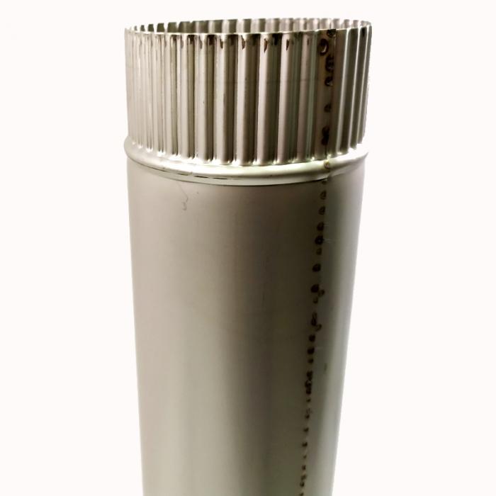 Труба без изоляции 1000 / 115 / 1 мм AISI-304