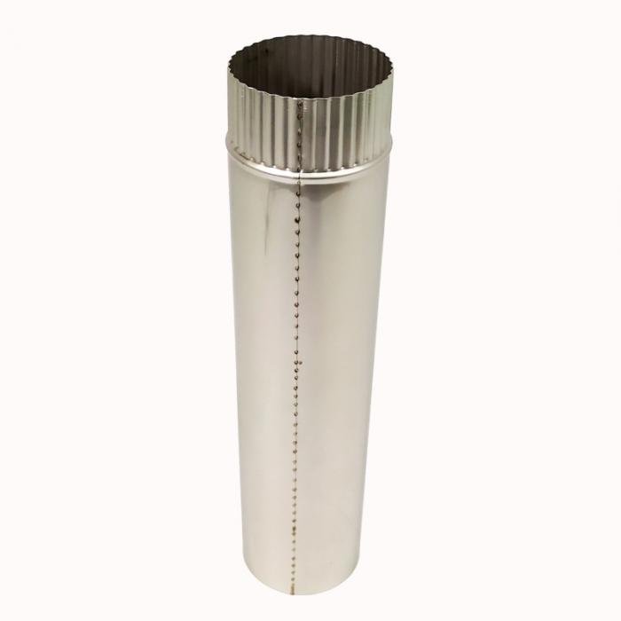 Труба без изоляции 500 / 115 / 1 мм AISI-304