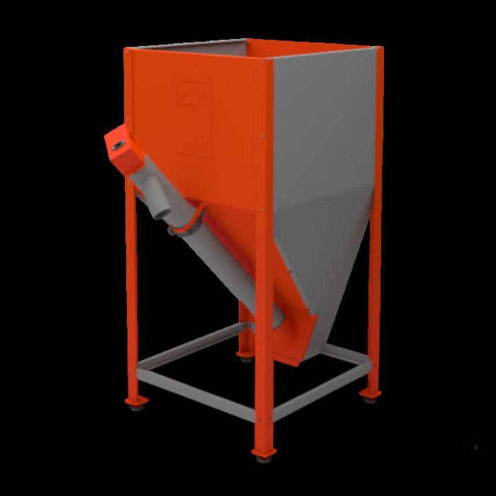 Бункер напольный для пеллет