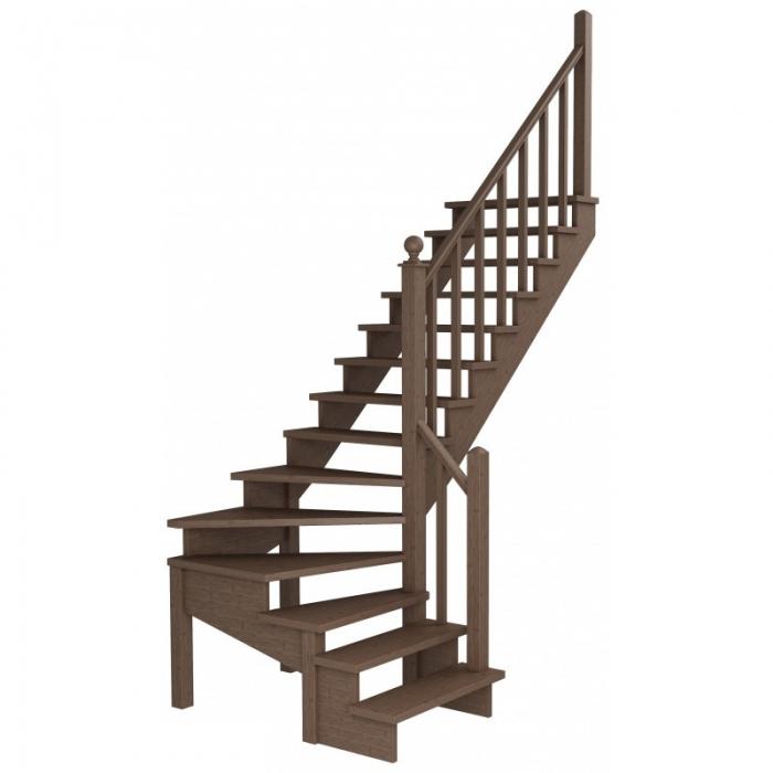 Лестница К-001 (2-8)-14 правая Р-46