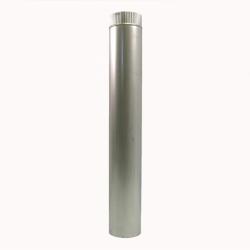 Труба без изоляции 1000 / 150 / 0,8 мм AISI-304