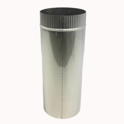 Труба без изоляции 500 / 200 / 0,8 мм AISI-304