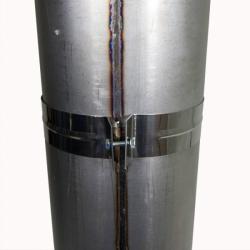 Хомут узкий 200 мм AISI-430