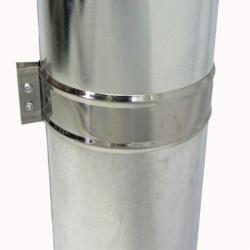 Труба с изоляцией 500 / 115/215 / 1 мм AISI 304/оцинк.
