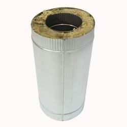 Труба с изоляцией 500 / 150/250 / 0,8 мм AISI 304/оцинк. СШ
