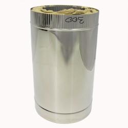 Труба с изоляцией 500 / 200/300 / 1 мм AISI 304/430