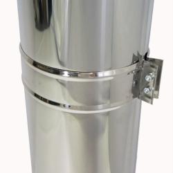 Труба с изоляцией 1000 / 115/215 / 1 мм AISI 304/430