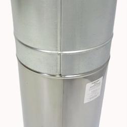 Труба с изоляцией 1000 / 150/250 / 0,5 мм AISI 304/430 СШ