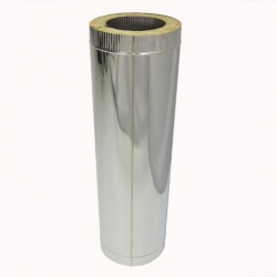Труба с изоляцией 1000 / 200/300 / 0,5 мм AISI 304/430 СШ