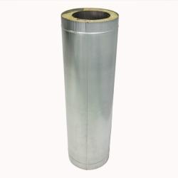 Труба с изоляцией 1000 / 200/300 / 1 мм AISI 304/оцинк.