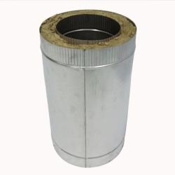 Труба с изоляцией 500 / 200/300 / 1 мм AISI 304/оцинк.