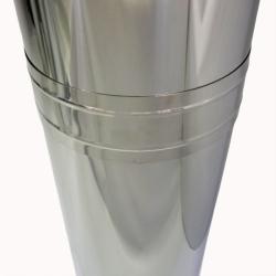 Хомут широкий 300 мм AISI-430