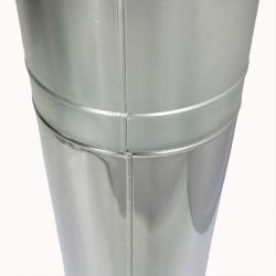 Труба с изоляцией 500 / 200/300 / 0,8 мм AISI 304/430