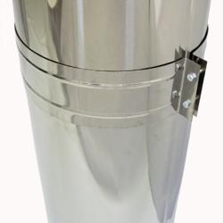 Труба с изоляцией 500 / 200/300 / 0,5 мм AISI 304/430