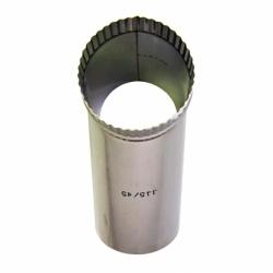 Тройник без изоляции 45º 115 / 0,8 мм AISI 304