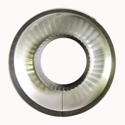 Заглушка со вставкой по дыму 115/215 / 0,8 мм AISI 304/430