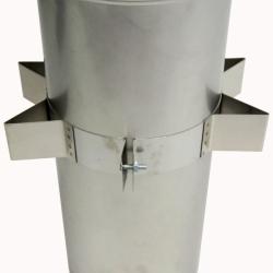Хомут силовой 215 мм AISI-430