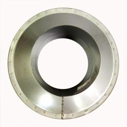 Заглушка со вставкой по конденсату 115/215 / 1 мм AISI 304/430 СШ