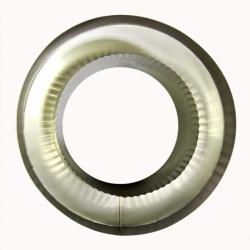 Заглушка со вставкой по дыму 200/300 / 0,8 мм AISI 304/430