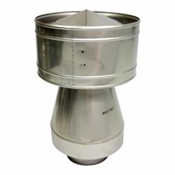 Дефлектор-оголовок 155/250 мм AISI-304